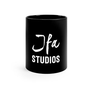 JFA Black mug 11oz
