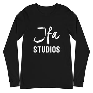 JFA Black/White Long Sleeve Tee Men and Women