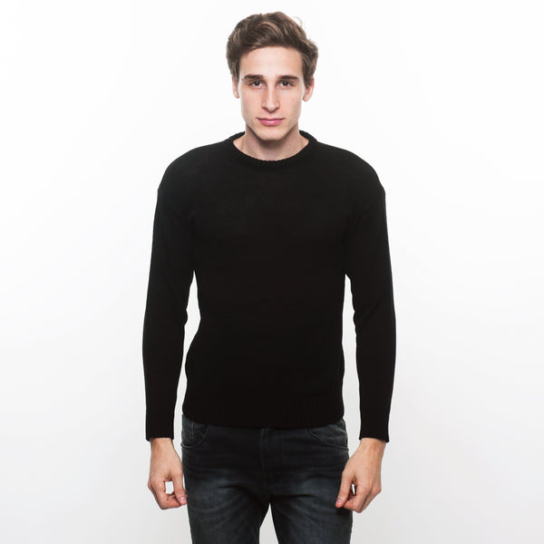 SWEATER LISO NEGRO