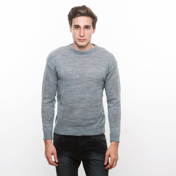 SWEATER LISO GRIS
