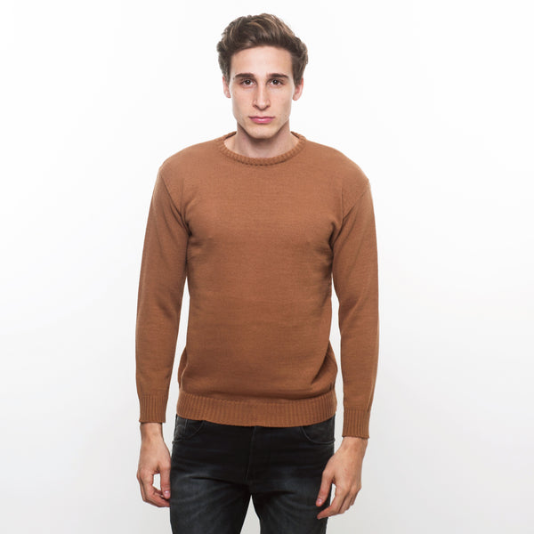 SWEATER LISO HABANO