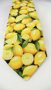 Squeeze the day! This tie is the zest