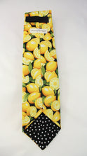 Load image into Gallery viewer, Squeeze the day! This tie is the zest