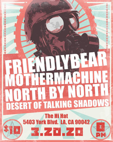 "Get Tickets for our ""BEARS"" EP Release Show at the Hi Hat"