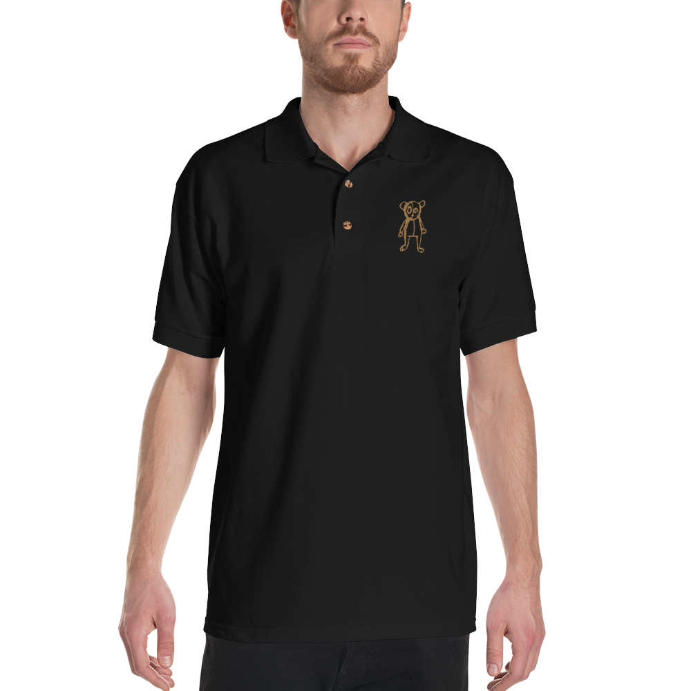 Embroidered FriendlyBear Polo Shirt