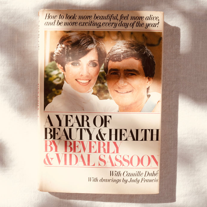 A YEAR OF HEALTH AND BEAUTY BOOK VIDAL SASSOON