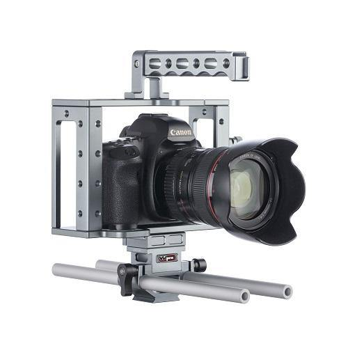 CA-22 Universal Aluminum Camera Cage for DSLRs