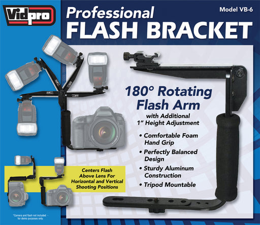 VB-6 Professional Camera Flash Bracket
