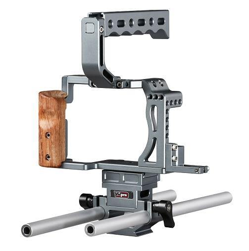 CA-S7R Aluminum Camera Cage Rig for Sony A7 A7R and A7RII