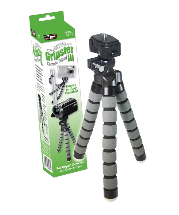 GP-14 Gripster III Flexible Camera Tripod