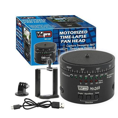 MH-365 Motorized Time-Lapse Pan Head