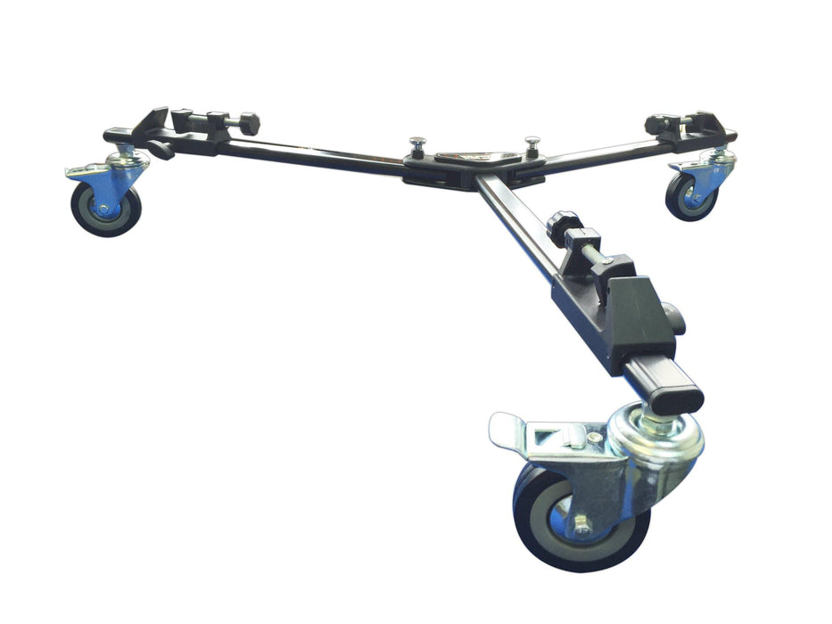 PD-1 Professional Tripod Dolly Heavy-Duty with Locking Wheels and Carry Case