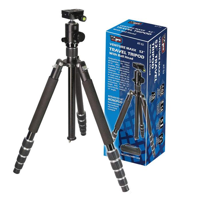 VentureMaxx Series Professional Travel Tripods - AT-52 (1 of 3)
