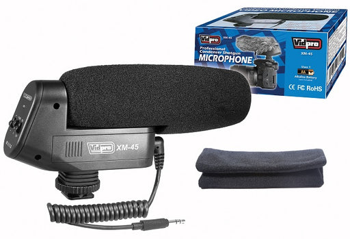 XM-45 Professional Condenser Shotgun Video Microphone