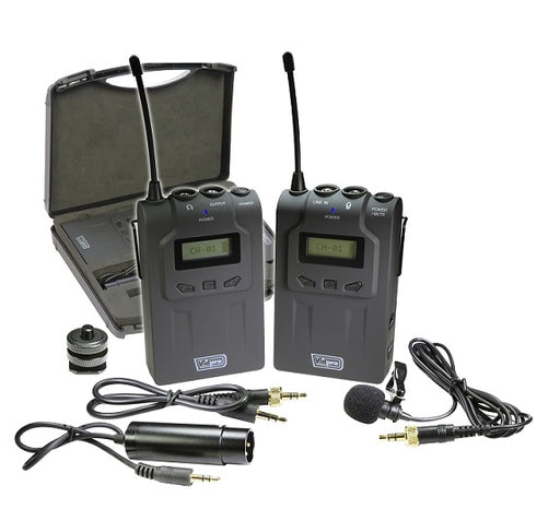 XM-W4 Professional UHF Wireless Microphone System