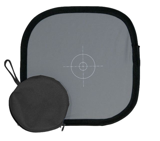 WB-24 White Balance Disc dual sided 18% Grey Front & Reflector 24 Inch