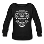 Women Vegan Healing Sweatshirt - black