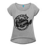 Vegan From My Head To My Toes T-Shirt - heather gray