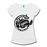 Vegan From My Head To My Toes T-Shirt - white