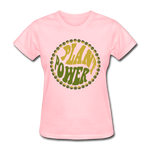 Women's Vegan Plant Power T-Shirt - pink