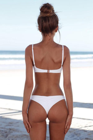 Solid Push-up Bra Bikini - Shaped4You