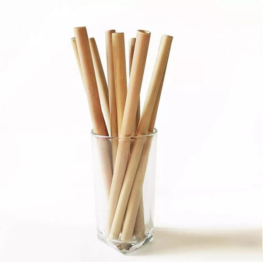 Eco-friendly straw from Javanese bamboo
