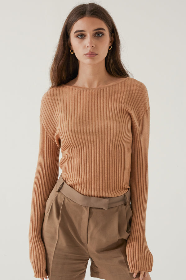 Ribbed Cashmere - Almina Concept