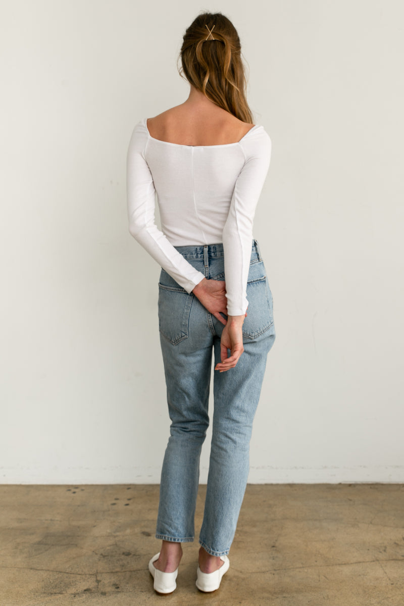 Slim Fitting Long Sleeves - Almina Concept