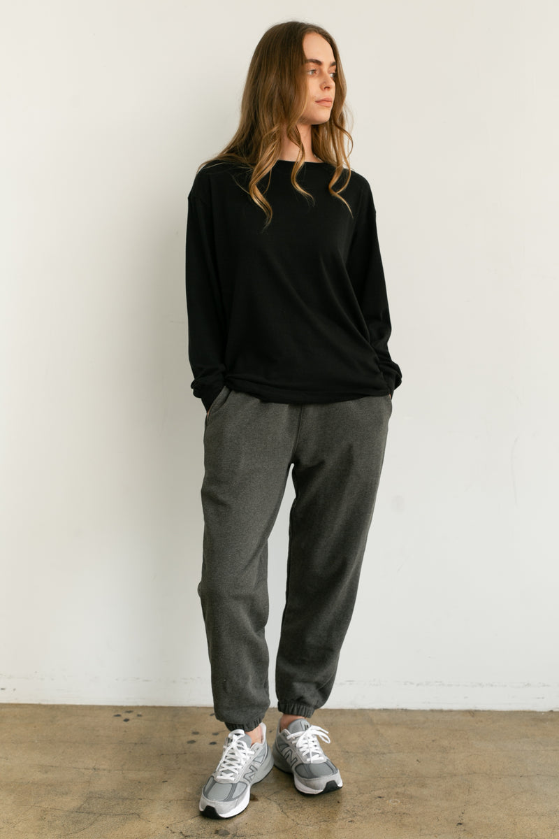 High Waist Sweatpants - Almina Concept