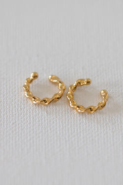 Twist Ear Cuffs - Almina Concept