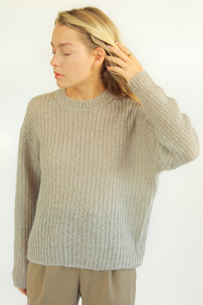Chunky Knit Sweater - Almina Concept