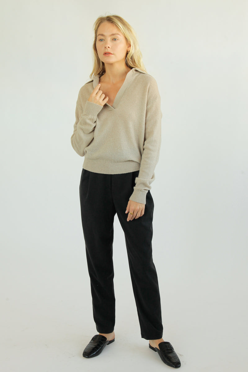 Polo Wool Knit - Almina Concept
