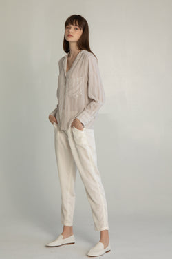 High Waisted Pant - Almina Concept