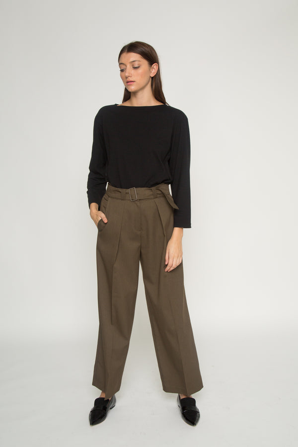 Belted Trouser - Almina Concept