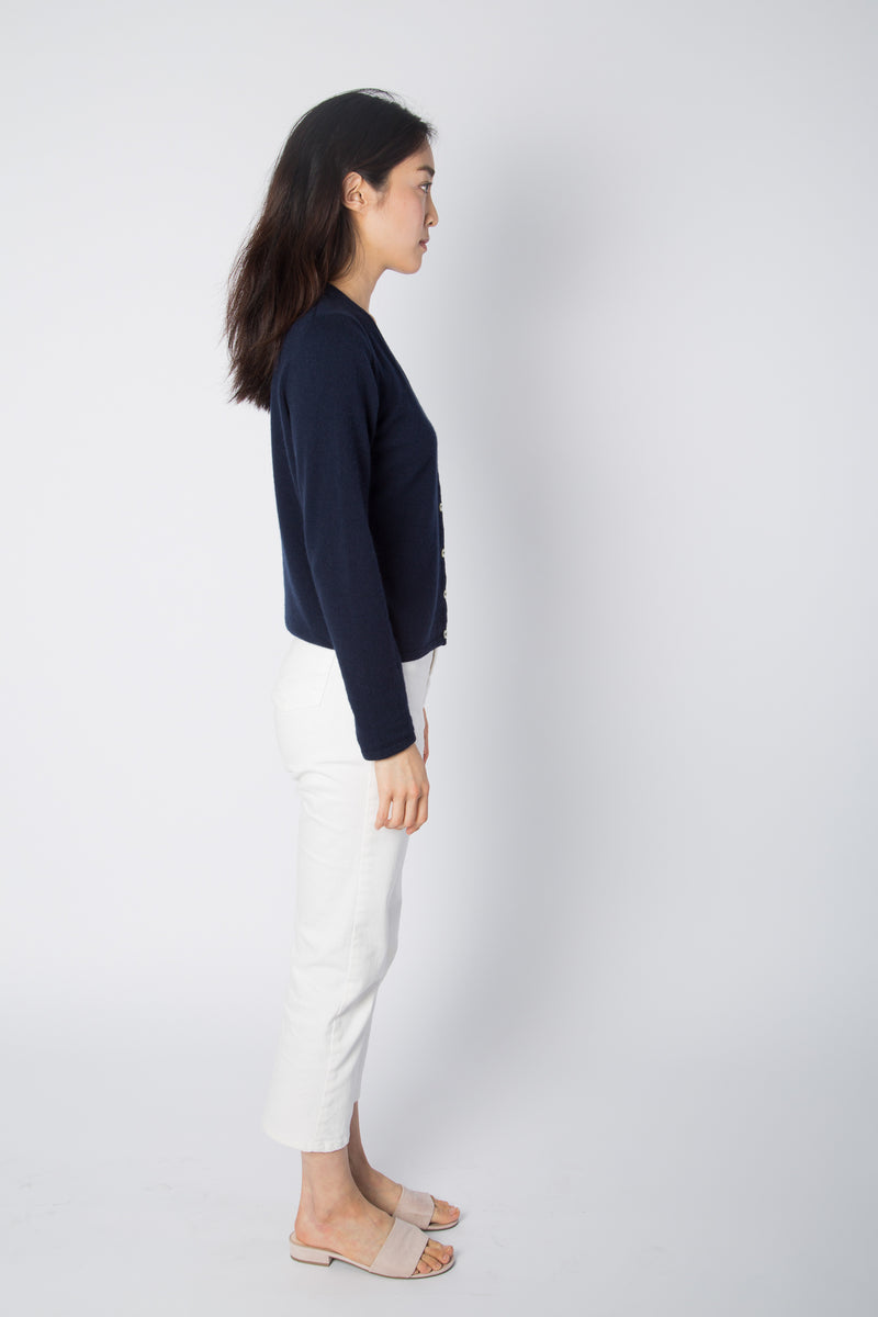 Wool Cashmere Cardigan - Almina Concept