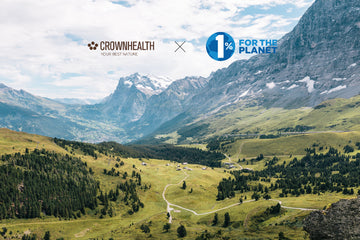 Crownhealth Joins 1% for the Planet, Committing 1% of Annual Sales to Environmental Causes