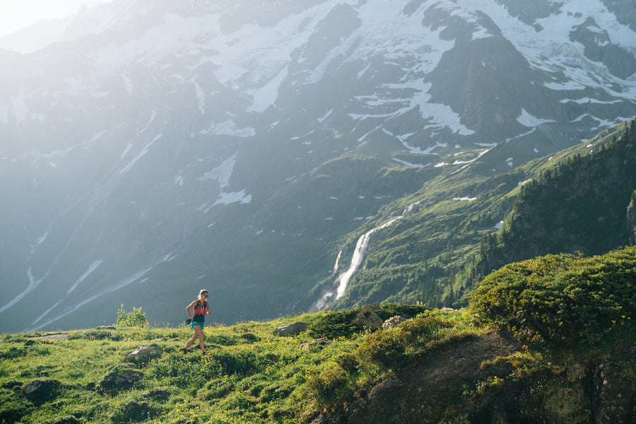 triathlon on swiss mountains for crownhealth event