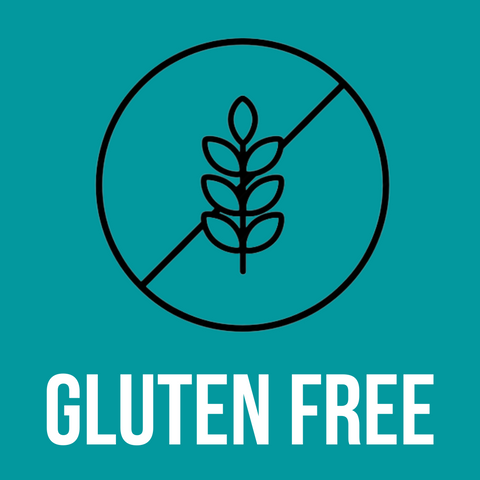 Gluten free vegan premium nutrition products logo