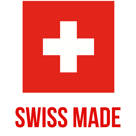 Swiss made premium healthy vegan nutrition products logo