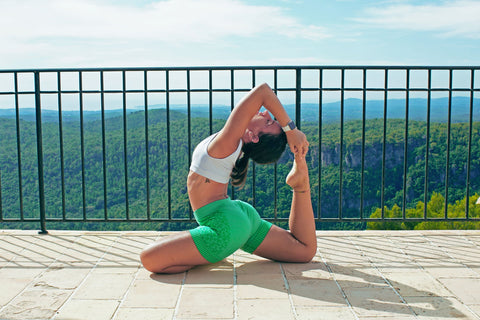 simona co-founder of Crownhealth is a passionate yogi. In her free time she practices yoga and continuing her teacher training education