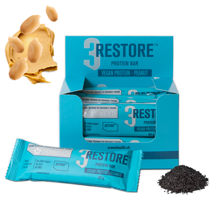 RESTORE PEANUT x12 bars // THIS LOT EXPIRES 08/02/2020