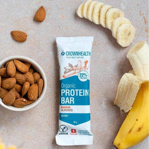 vegan organic protein bars help gain muscles and improve body fitness