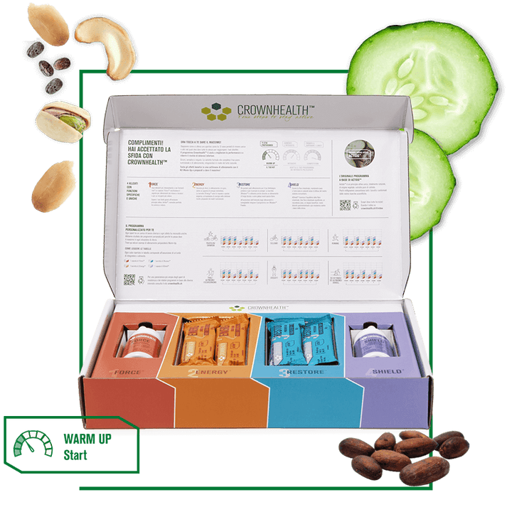 Crownhealth's starter kit is designed for those seeking the best dietary supplements and healthy sports nutrition.