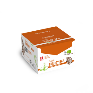 swiss made vegan energy bars pack of 12 bars of 50g