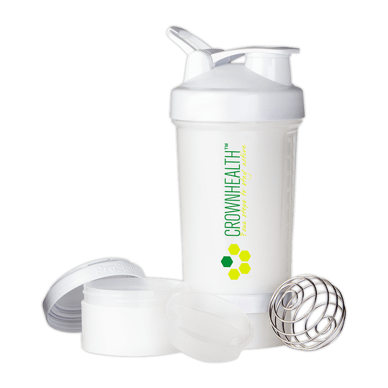 Eco-friendly shakers w Belnderball for sports training. All your sports nutrition - snacks, pills, supplements, liquids - into one multi-functional shaker.