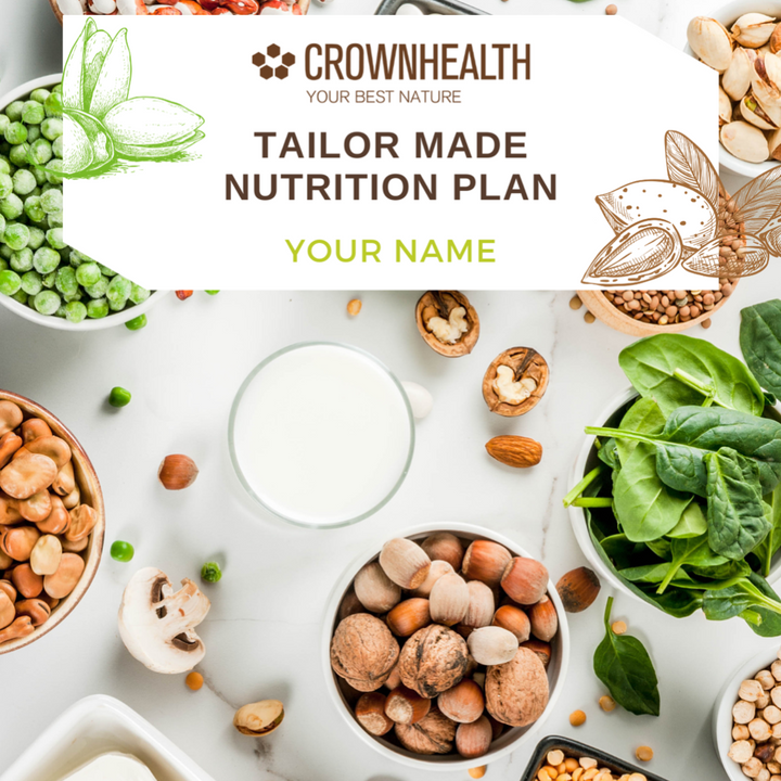 Tailor-made nutritional plan crownhealth