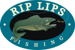Rip Lips Fishing Logo