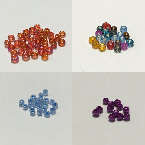Glass Fly Tying Beads