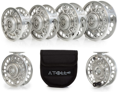 Temple Fork Atoll Fly Reels and Spools