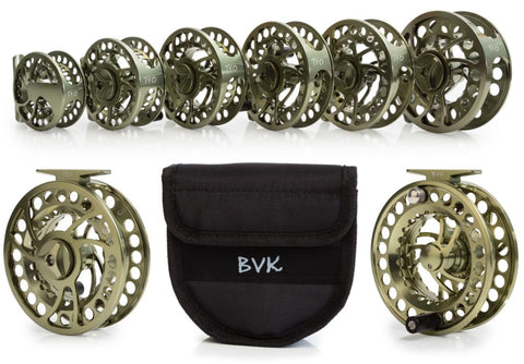 Temple Fork BVK Fly Reels and Spools